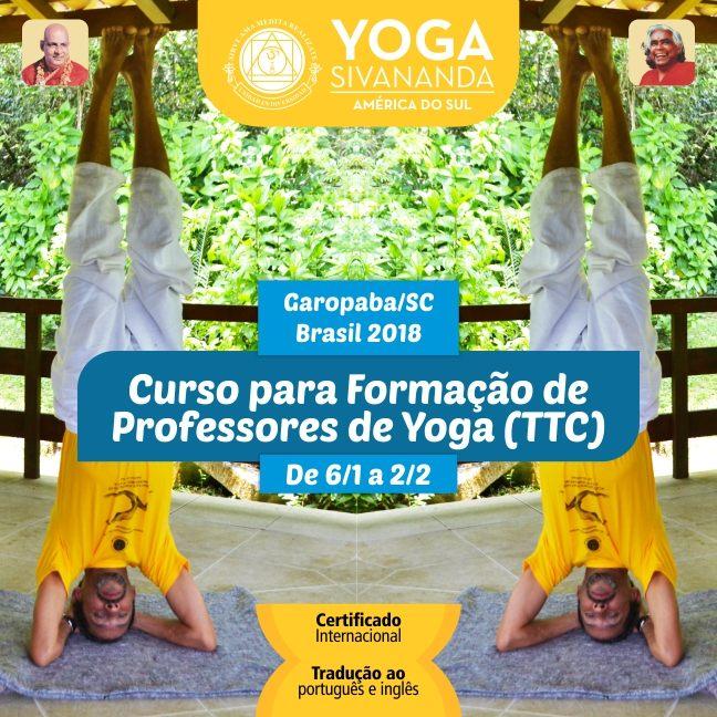 Curso para Formação de  Professores de Yoga (TTC)