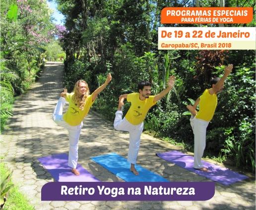 Retiro Yoga na Natureza