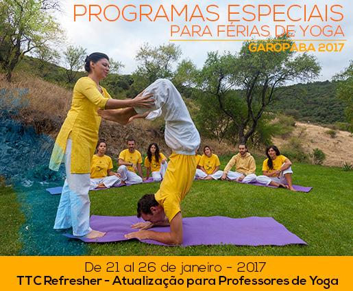 TTC Refresher - Atualização para Professores de Yoga - Garopaba 2017